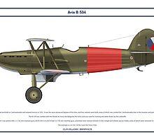 Avia B-534 Czech 3 by Claveworks