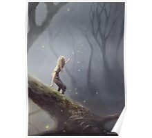 Lost With Fireflies Poster