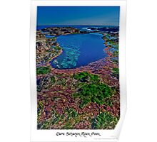 Cape Schanck Rock Pool Poster