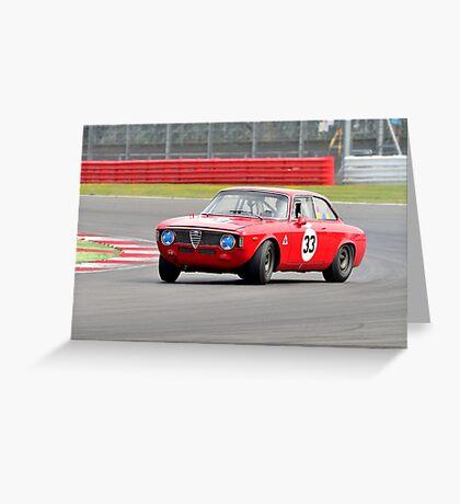 Alfa Romeo GTA No 33 Greeting Card