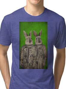 We are ready green Tri-blend T-Shirt