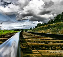 Railway tracks by Nicole Goggins