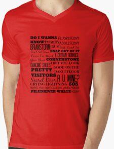 Arctic Monkeys Songs Compilation Mens V-Neck T-Shirt