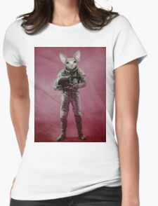 The dreamer Womens Fitted T-Shirt