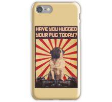 Propaganda Pug iPhone Case/Skin
