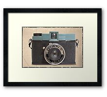 Diana camera Framed Print
