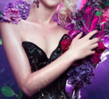 Floral Depiction  Sticker
