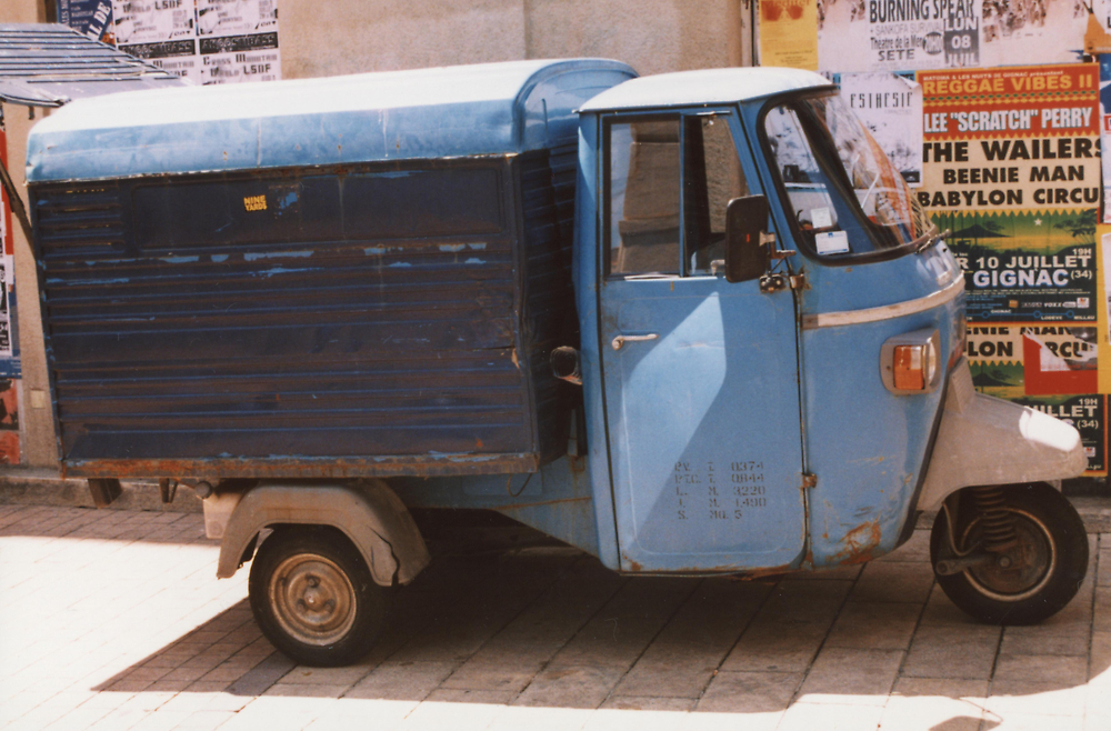 French 3-wheeled Van by Edward Denyer
