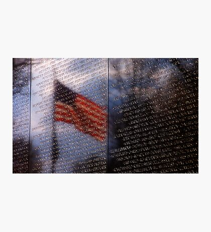 A Countries Reflection Photographic Print