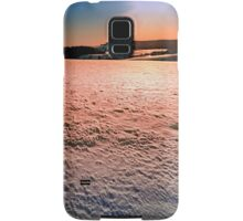 Snow, fields and a winter sunset | landscape photography Samsung Galaxy Case/Skin