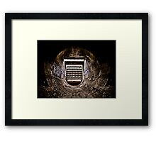 Wormhole - Vision One Framed Print