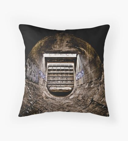 Wormhole - Vision One Throw Pillow