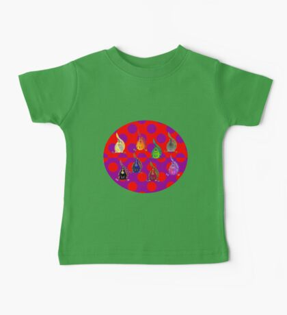 Curly Sam repetition Baby Tee