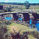A clapper bridge on dartmoor by georgieboy98