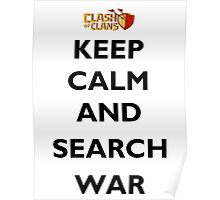 Keep Calm Clash of Clan Poster