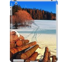 Timber in winter wonderland | landscape photography iPad Case/Skin