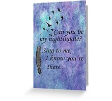 My Nightingale Greeting Card