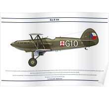 Avia B-534 Czech 5 Poster