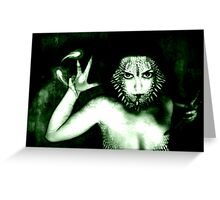 Conjuring Greeting Card