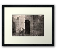 In Times Past Framed Print