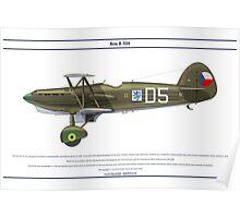 Avia B-534 Czech 6 Poster