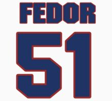 National Hockey player Fedor Tyutin jersey 51 by imsport