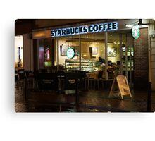 Starbucks Canvas Print