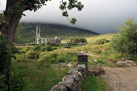 Dunlewey church 2 by John Quinn