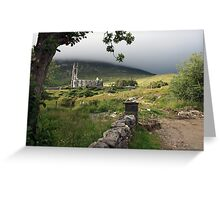 Dunlewey church 2 Greeting Card