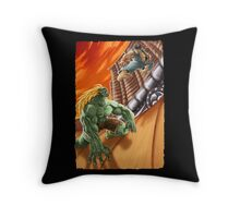 EPIC BATTLE! Throw Pillow