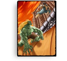 EPIC BATTLE! Canvas Print