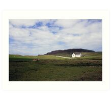 Donegal church Art Print