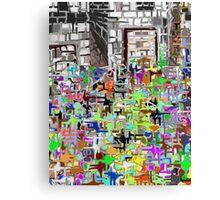 Busy Canvas Print