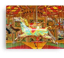 Gallopers Canvas Print