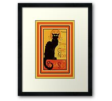 Tournee Du Chat Noir - After Steinlein Framed Print