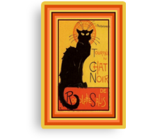Tournee Du Chat Noir - After Steinlein Canvas Print