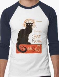 Tournee Du Chat Noir - After Steinlein Men's Baseball ¾ T-Shirt