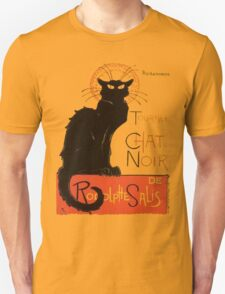 Tournee Du Chat Noir - After Steinlein Unisex T-Shirt
