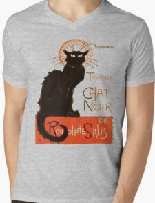 Tournee Du Chat Noir - After Steinlein Mens V-Neck T-Shirt
