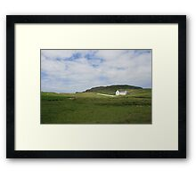 Lagg church Framed Print