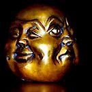 Buddha heas by alyssa naccarella