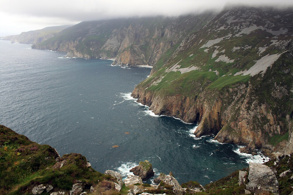 Slieve League cliffs by John Quinn
