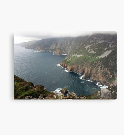 Slieve League cliffs Metal Print
