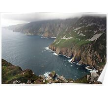 Slieve League cliffs Poster