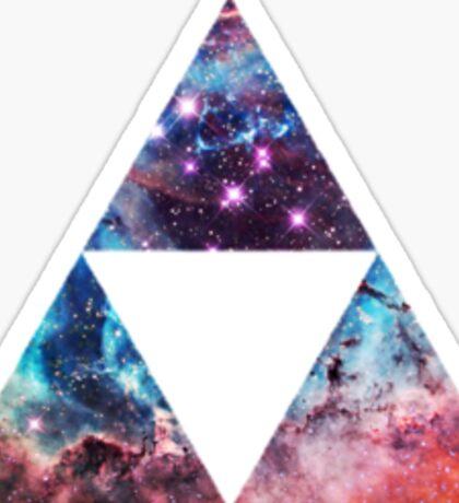 Triforce Nebula Sticker