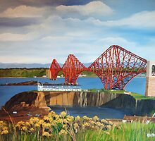The Forth Rail Bridge by ericmeikle