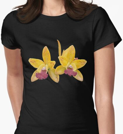 Orchids #6 Womens Fitted T-Shirt
