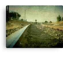 The Main North Line, Uralla, New South Wales Canvas Print