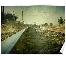 The Main North Line, Uralla, New South Wales Poster