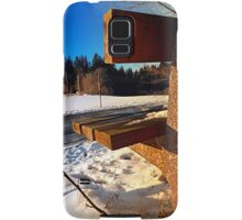 Winter afternoon point of view | landscape photography Samsung Galaxy Case/Skin